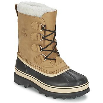 鞋子 男士 雪地靴 Sorel CARIBOU 米色