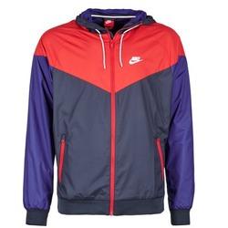 衣服 男士 冲锋衣 Nike 耐克 WINDRUNNER 海蓝色 / 红色 / 蓝色