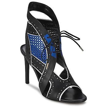 鞋子 女士 凉鞋 Roberto Cavalli 罗伯特·卡沃利 XPS254-PZ448 黑色 / 蓝色