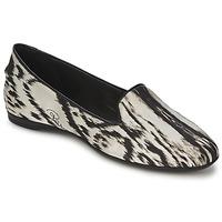 鞋子 女士 平底鞋 Roberto Cavalli 罗伯特·卡沃利 XPS280-FLA35 米色 / 黑色