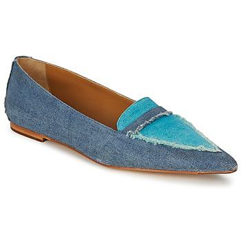 鞋子 女士 皮便鞋 Castaner KATY 蓝色 / 牛仔