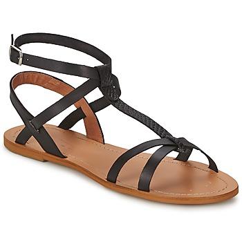 鞋子 女士 涼鞋 So Size BEALO 黑色