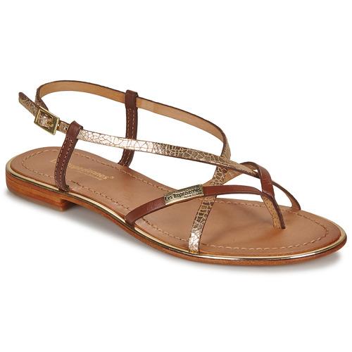 鞋子 女士 凉鞋 Les Tropéziennes par M Belarbi MONACO 茶色 / 金色