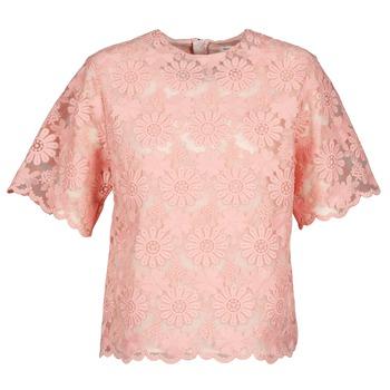 衣服 女士 女士上衣/罩衫 Manoush AFRICAN BLOUSE 珊瑚色