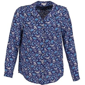 衣服 女士 衬衣/长袖衬衫 Manoush BANDANA SILK 蓝色