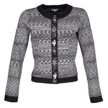 衣服 女士 外套/薄款西服 Manoush BIJOU VESTE 黑色 / 灰色