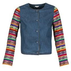 衣服 女士 外套/薄款西服 Manoush INDIAN DENIM 蓝色