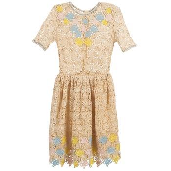衣服 女士 短裙 Manoush ROSES 浅米色