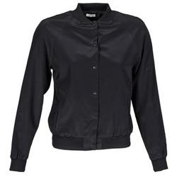 衣服 女士 外套/薄款西服 Manoush TEDDY FLEUR SIATIQUE 黑色
