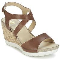 鞋子 女士 凉鞋 Lumberjack SISSI 棕色 / 米色