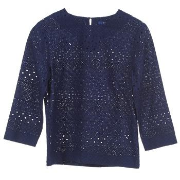 衣服 女士 女士上衣/罩衫 Gant 431951 蓝色
