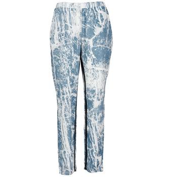 衣服 女士 女士阔腿裤/灯笼裤 Vila GRUNGE ME 蓝色 / 白色