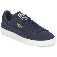 鞋子 球鞋基本款 Puma 彪马 SUEDE CLASSIC + 海蓝色