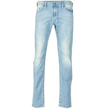 衣服 男士 紧身牛仔裤 Diesel 迪赛尔 THAVAR 蓝色 / 0849E