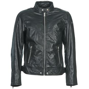 衣服 男士 皮夹克/ 人造皮革夹克 Diesel 迪赛尔 L-REED 黑色