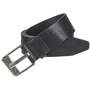 纺织配件 男士 腰带 Diesel 迪赛尔 BLUESTAR 黑色