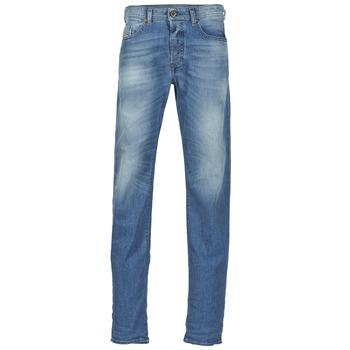 衣服 男士 直筒牛仔裤 Diesel 迪赛尔 BUSTER 蓝色 / 842h