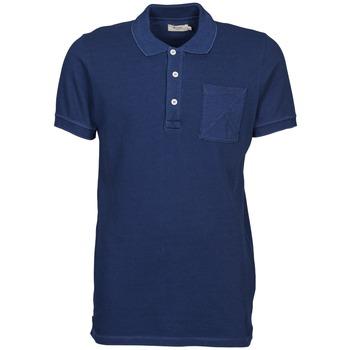 衣服 男士 短袖保罗衫 Kulte DALLE 蓝色
