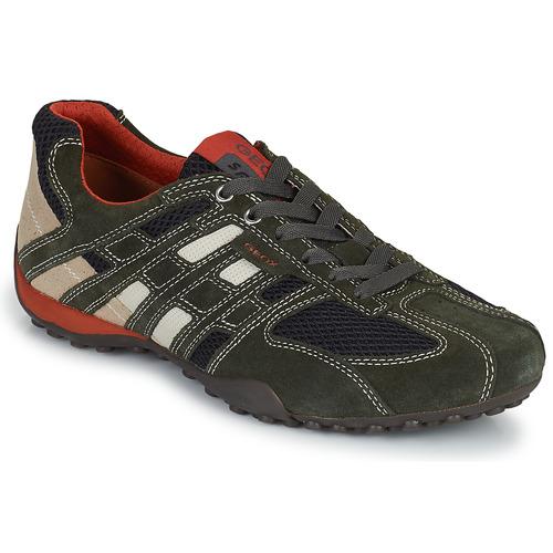 鞋子 男士 球鞋基本款 Geox 健乐士 SNAKE 灰色