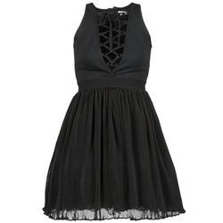 衣服 女士 短裙 Manoush MARILACET 黑色