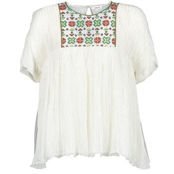 衣服 女士 女士上衣/罩衫 Manoush POINT DE CROIX 浅米色