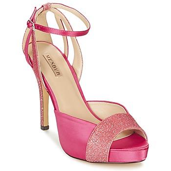 鞋子 女士 凉鞋 Menbur ARENALES 玫瑰色