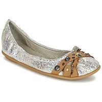 鞋子 女士 平底鞋 Regard SOLI 银色 / 米色