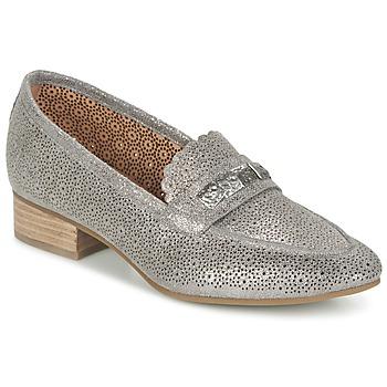 鞋子 女士 皮便鞋 MAM'ZELLE QUEM 灰色 / 白色