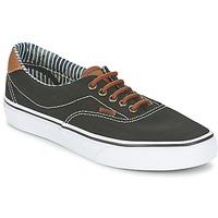 鞋子 球鞋基本款 Vans 范斯 ERA 59 黑色 / Rayures / 蓝色