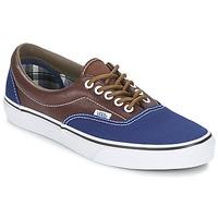 鞋子 男士 球鞋基本款 Vans 范斯 ERA 海蓝色 / 棕色