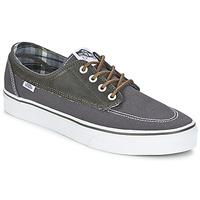 鞋子 男士 球鞋基本款 Vans 范斯 BRIGATA 灰色 / 卡其色
