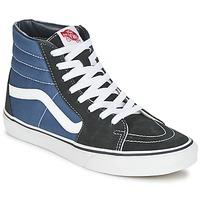 鞋子 高帮鞋 Vans 范斯 SK8-HI 海蓝色 / 黑色