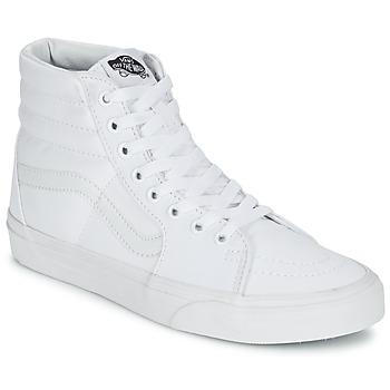 鞋子 高帮鞋 Vans 范斯 SK8-HI 白色