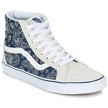 鞋子 高帮鞋 Vans 范斯 SK8-HI REISSUE Bandana / 蓝色 / 白色