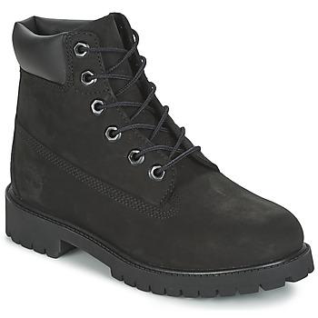 鞋子 儿童 短筒靴 Timberland 添柏岚 6 IN PREMIUM WP BOOT 黑色