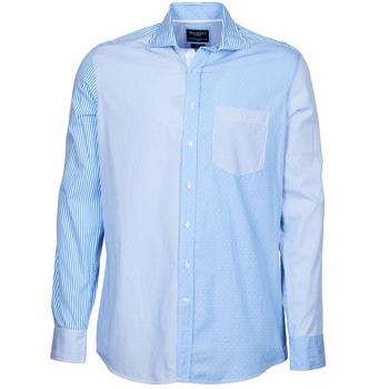 衣服 男士 长袖衬衫 Hackett GORDON 蓝色