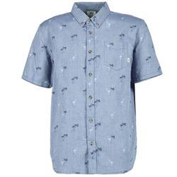 衣服 男士 短袖衬衫 Vans 范斯 HOUSER SS 蓝色