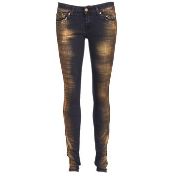 衣服 女士 紧身牛仔裤 7 for all Mankind OLIVYA 蓝色