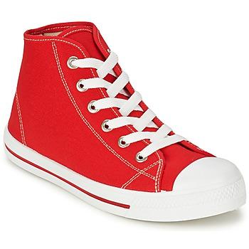 鞋子 男士 高帮鞋 Yurban WAXI 红色
