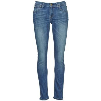 衣服 女士 紧身牛仔裤 Lee JADE 蓝色