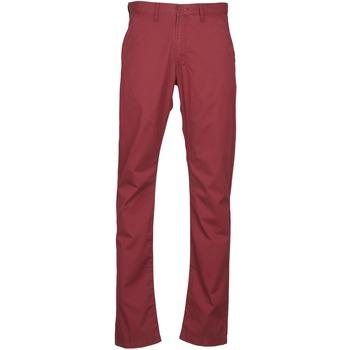 衣服 男士 休闲裤 Lee CHINO OXBLOOD 红色