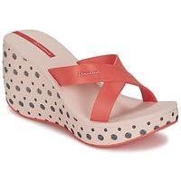 鞋子 女士 休闲凉拖/沙滩鞋 Ipanema 依帕内玛 LIPSTICK STRAPS II 红色 / 玫瑰色