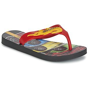 鞋子 男孩 人字拖 Ipanema 依帕内玛 HOT WHEELS TYRE 红色 / 黑色
