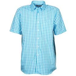 衣服 男士 短袖衬衫 Pierre Cardin 皮尔卡丹 539236202-140 蓝色
