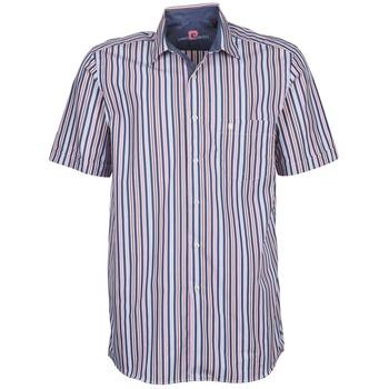 衣服 男士 短袖衬衫 Pierre Cardin 皮尔卡丹 514636216-184 蓝色 / 玫瑰色