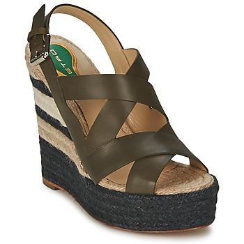 鞋子 女士 凉鞋 Etro 艾特罗 3948 棕色
