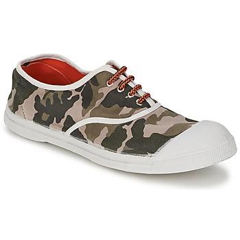 鞋子 女士 球鞋基本款 Bensimon TENNIS CAMOFLUO 迷彩
