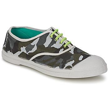 鞋子 男士 球鞋基本款 Bensimon TENNIS CAMOFLUO 迷彩