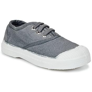 鞋子 儿童 球鞋基本款 Bensimon TENNIS LACET 灰色 / Moyen