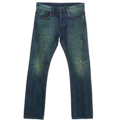 衣服 男士 直筒牛仔裤 ünkut Six 蓝色